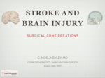 stroke injury presentation