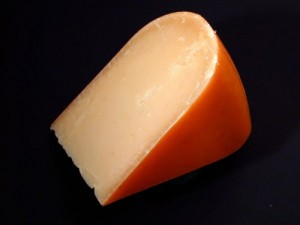slice of calcium-rich cheese